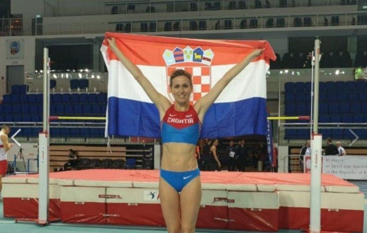 Riječka atletičarka na vrhu svijeta! Irena Vlahinić postala je nova svjetska dvoranska prvakinja u skoku u vis