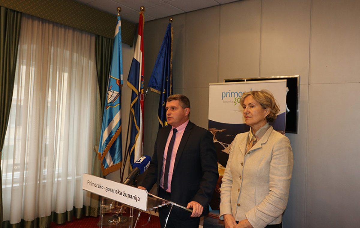 Županijski press kolegij – Kroz Fond za Gorski kotar lokalnoj samupravi osigurano dodatnih 4,4 milijuna kuna