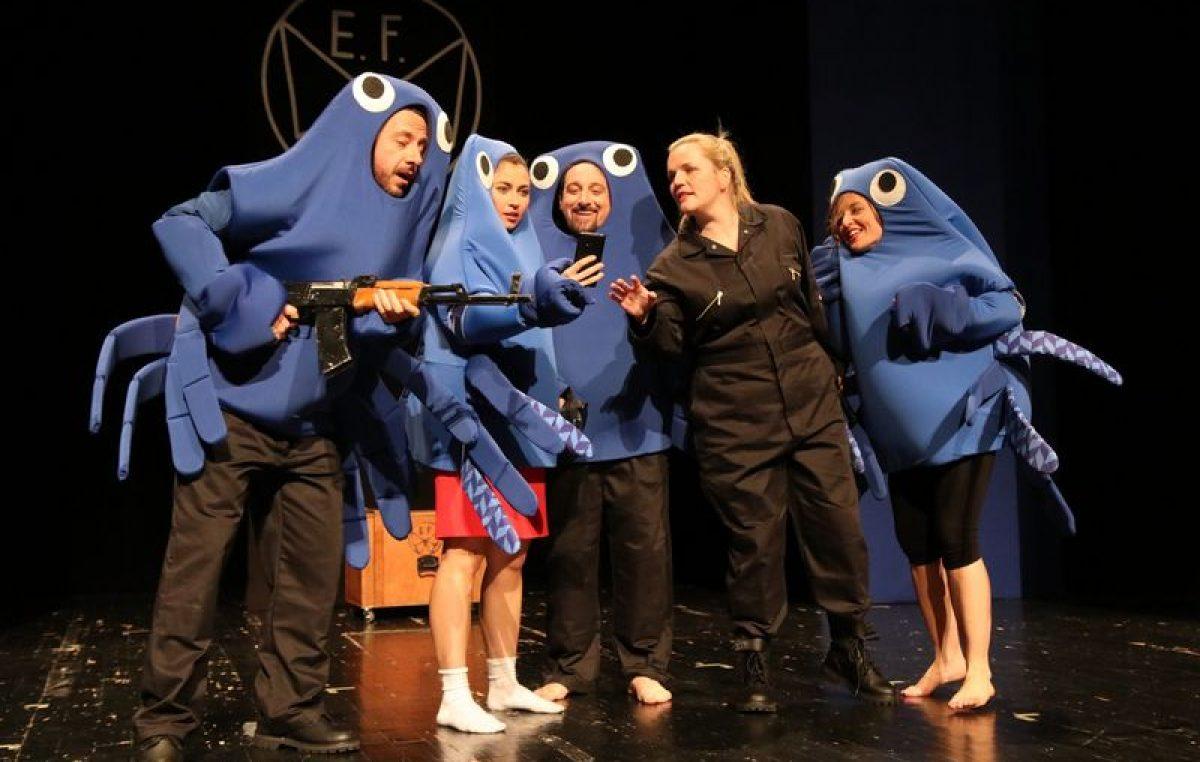 Crnohumorna predstava 'Efekt leptira' Talijanske drame večeras ima premijeru u HKD na Sušaku