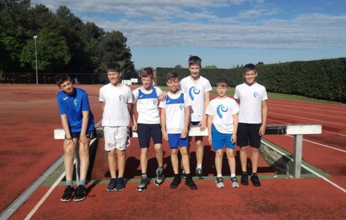 Mladi atletičari Kvarnera uspješno nastupili na 4. kolu Kvarnerske lige u Poreču