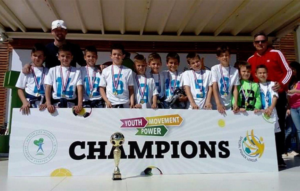 Morčići Rijeke osvojili prvo mjesto na Youth Movement Power turniru u Rovinju