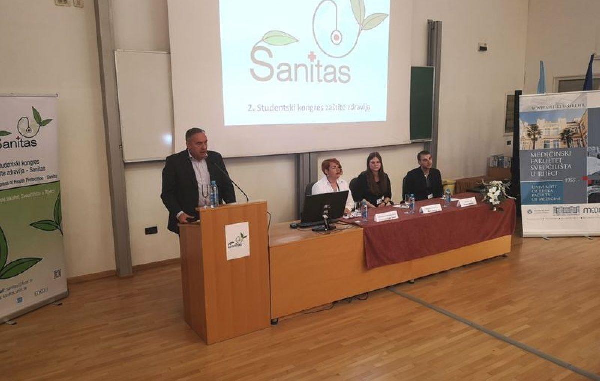 Rijeka je domaćin studentskog kongresa zaštite zdravlja Sanitas koji je okupio tri stotine sudionika