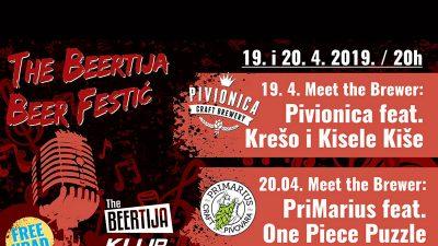 The Beertija Beer Festić – Dva dana uživanja u vrhunskom pivu i žestokoj svirci