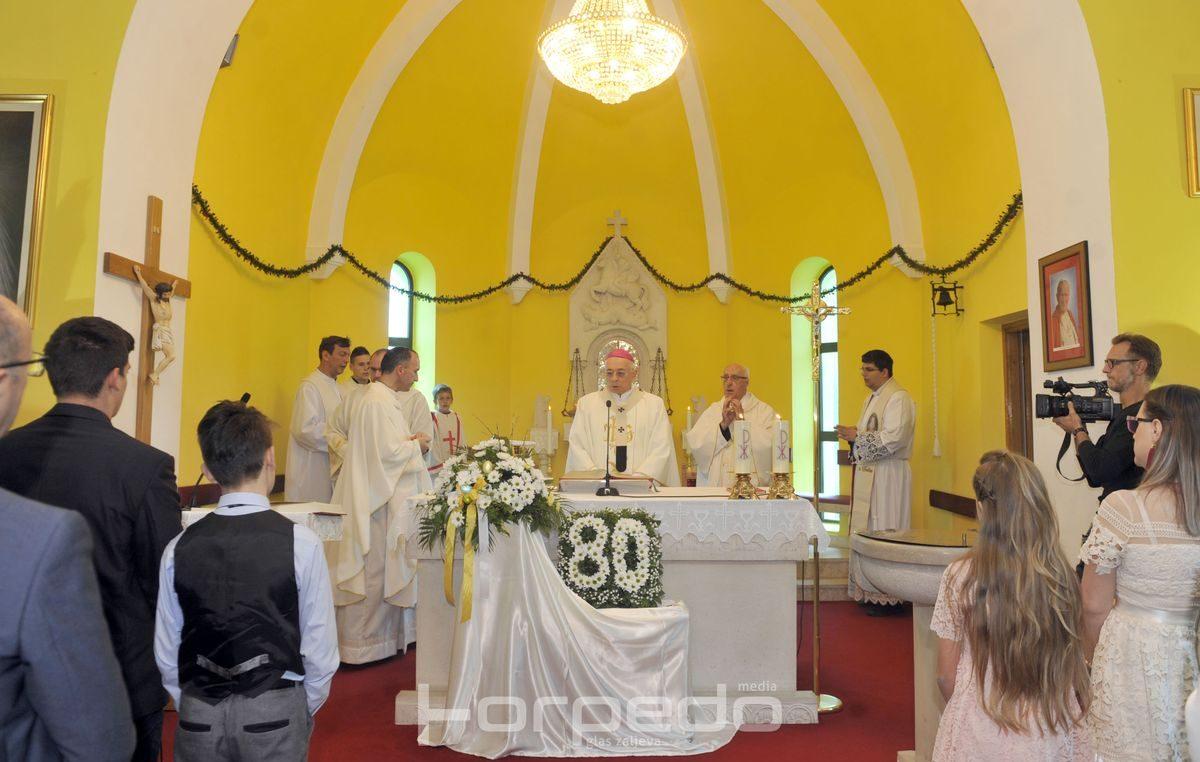 Crkva nastala u specifičnim okolnostima: Župa sv. Jurja na Gornjoj Drenovi proslavila 80 godina postojanja
