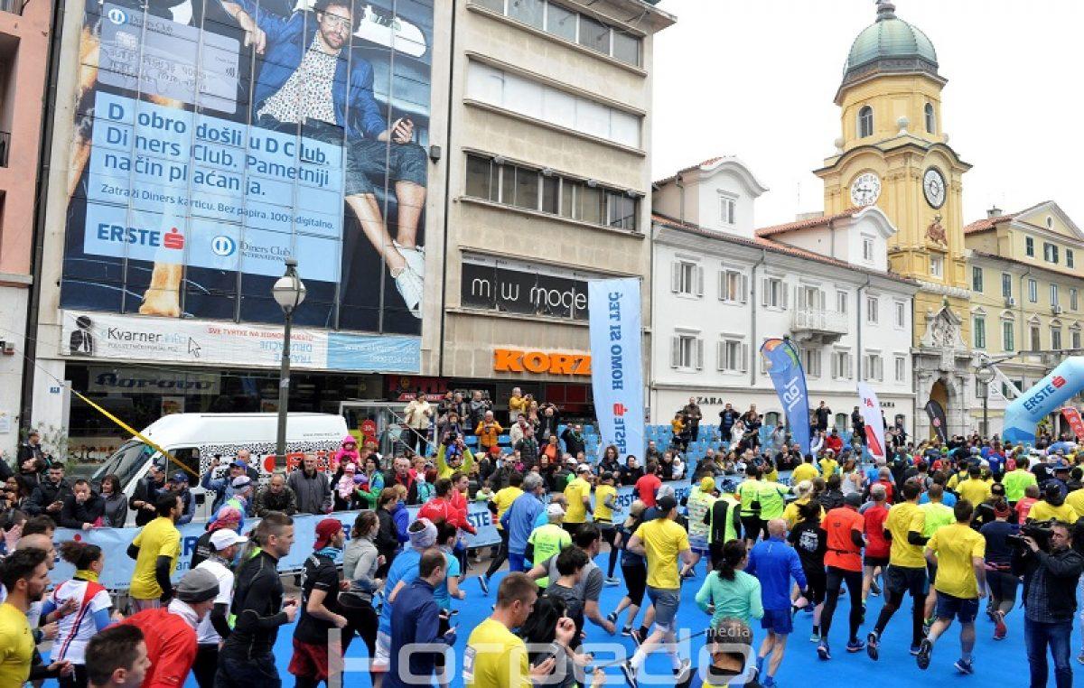 FOTO Rijeka trkača krenula s Korza – startao je 23. Homo si teć