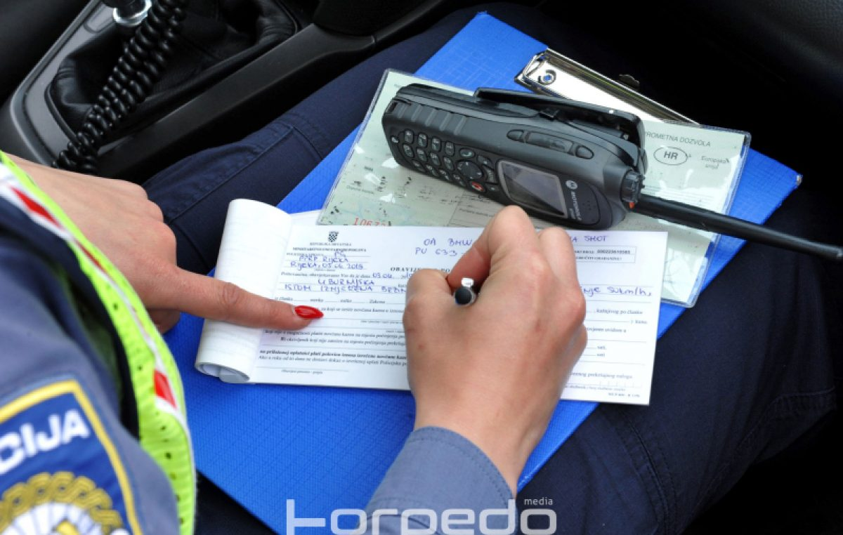 Policija nastavlja s pojačanim nadzorom brzine: U samo jednom danu zabilježen 141 prekršaj