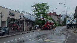 U OKU KAMERE Grom pogodio kuću i izazvao požar, u tijeku intervencija vatrogasaca