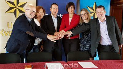 VIDEO Unija Kvarnera izlazi na europske izbore u koaliciji sa strankom Pametno: Danas potpisan sporazum