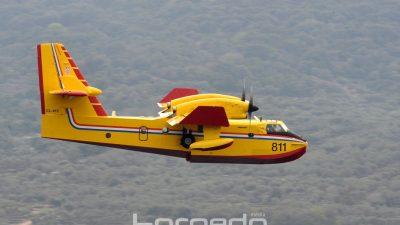 VIDEO Šumski požar u Sušačkoj Dragi: Velika mobilizacija vatrogasaca, u pomoć stigao i kanader