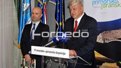 Primorsko-goranska županija očekuje pad prihoda od 37 milijuna kuna ove godine
