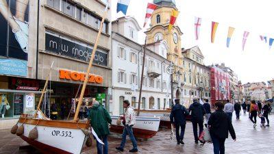 FOTO/VIDEO Svečano otvoreno osmo izdanje Kvarnerskog festivala mora i pomorske tradicije Fiumare
