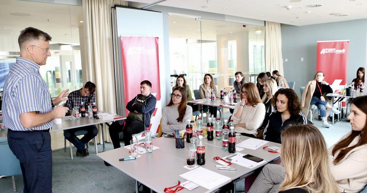 Prijave na besplatne radionice projekta Coca-Colina podrška mladima i dalje otvorene za mlade u Rijeci