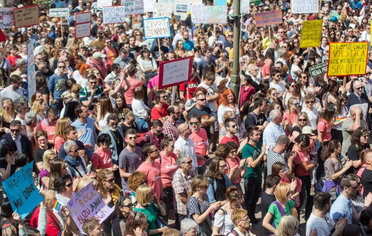 U subotu drugi Hod za slobodu: Pozivaju se građani koji slobodno misle na prosvjednu šetnju Rijekom