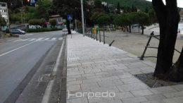 Crna prometna večer – Auto sletio na plažu Ičići, drugi izazvao sudar kod sportske dvorane Opatija