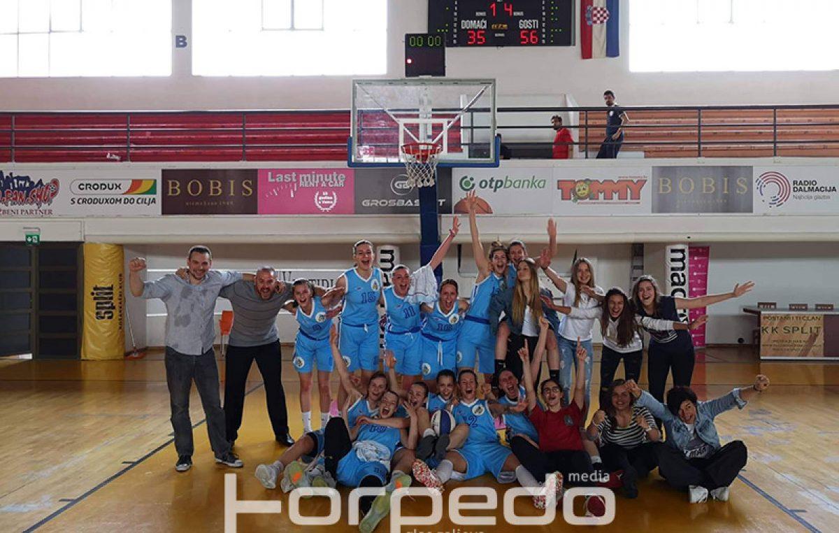 FOTO Košarkašice FSV-a nove su članice Prve ženske lige! – Pobjedom u Splitu Riječanke su ostvarile najveći uspjeh u povijesti ženskog pogona kluba