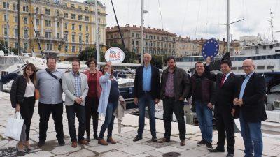 Kandidati liste Pametno i Unija Kvarnera: Rijeka kao grad znanja, poduzetništva i inovacija