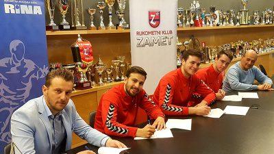 RK Zamet sutra protiv Varaždina igra posljednju utakmicu sezone – Mrakovčić, Načinović i Starčević potpisali nove ugovore