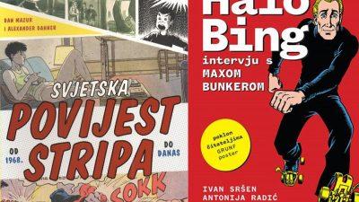 """Sandorf u gostima: Predstavljanje knjiga """"Halo Bing: intervju s Maxom Bunkerom"""" i """"Svjetska povijest stripa: od 1968. do danas"""""""