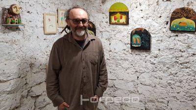 FOTO Duhovit, lucidan i ironičan: Saša Jantolek predstavio nove radove na izložbi 'Nova epizoda'
