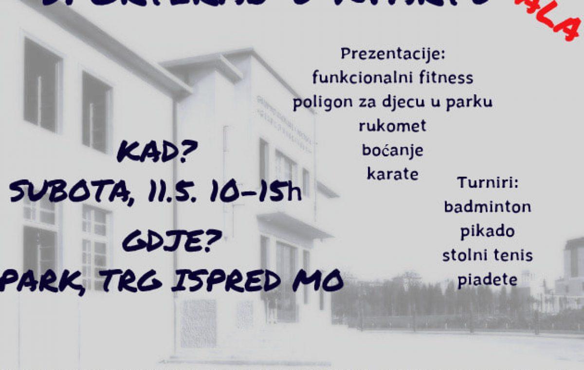 """Sportiraj u kvartu"" – Ove će se subote uz bogat sportsko rekreativno zabavni program održati Dan sporta na Kozali"