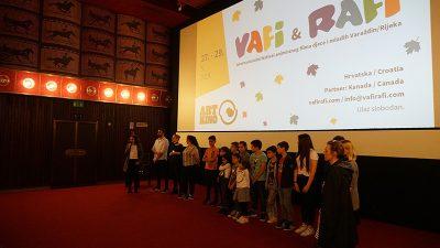 U Art-kinu proglašeni prvi pobjednici 10. VAFI i RAFI festivala
