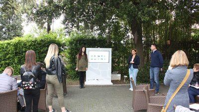 U Botaničkom vrtu Prirodoslovnog muzeja Rijeka otvorena info točka Rimski vrt