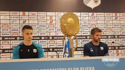 VIDEO Igor Bišćan i Ivan Lepinjica najavili utakmicu u Koprivnici: Idemo opušteno i rasterećeno ali to ne znači da nećemo dati maksimum i pokušati sezonu zaključiti pobjedom