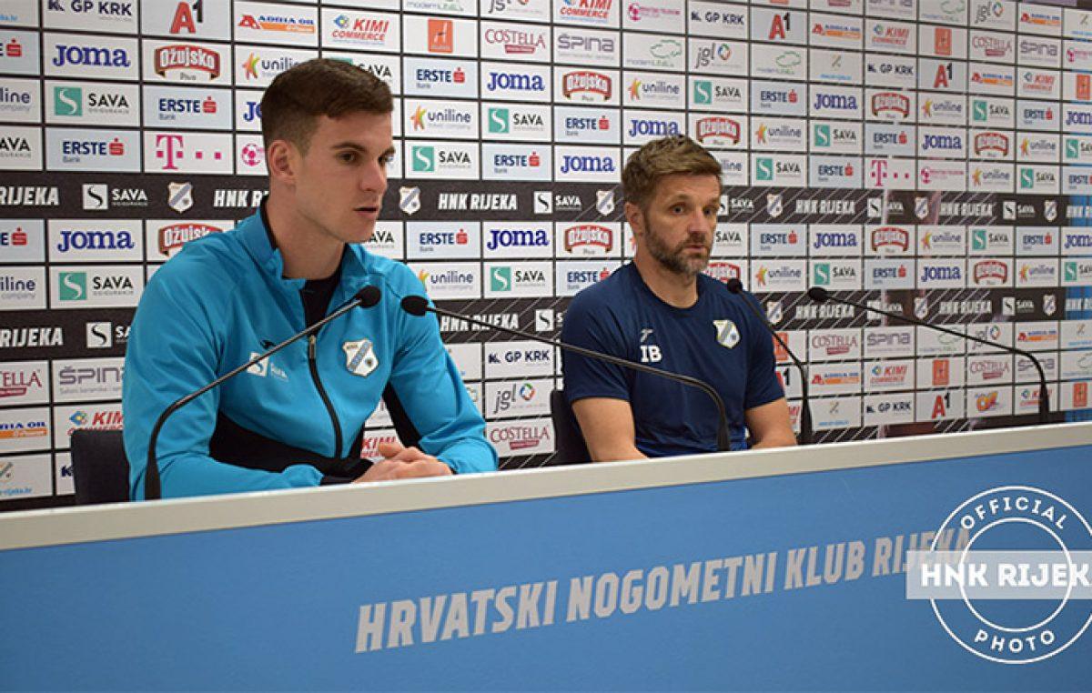 VIDEO Igor Bišćan i Simon Sluga najavili sutrašnju utakmicu protiv Dinama: U finalu Kupa ne namjeravamo biti samo sudionici