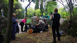 Volonterska akcija čišćenja budućeg parka na Kantridi