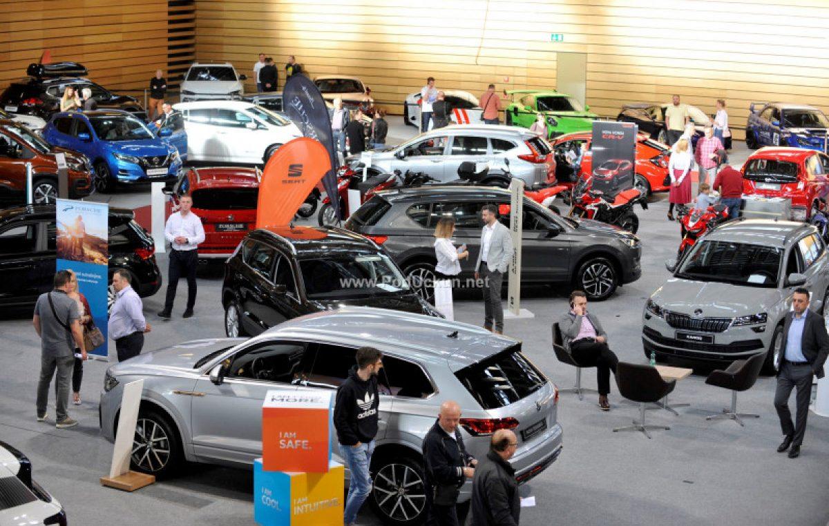 FOTO/VIDEO Otvoren 7. Exclusive Auto Moto Show: Brojne premijere i atrakcije do nedjelje 'parkirane' u Centru Zamet