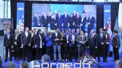 HDZ održao završni skup pred europske izbore u Rijeci: Uvjereni u pobjedu jer nose vrijednosti domoljublja