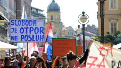 Rijeka je ustala u obranu ljudskih prava: Hod za slobodu okupio tisuće građana