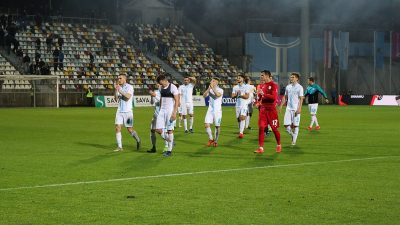 FOTO/VIDEO Igor Bišćan: Potvrdili smo drugo mjesto i protiv Dinama se imamo čemu nadati