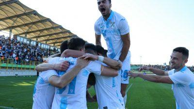 FOTO/VIDEO VAŽ JE NAŠ! U napetoj utakmici finala Kupa Rijeka je savladala Dinamo 3:1