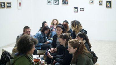 """Otvorenje izložbe """"Pokreti i okreti"""" Vlaste Furdek i Zoe Miloša @ Galerija SKC, Rijeka"""