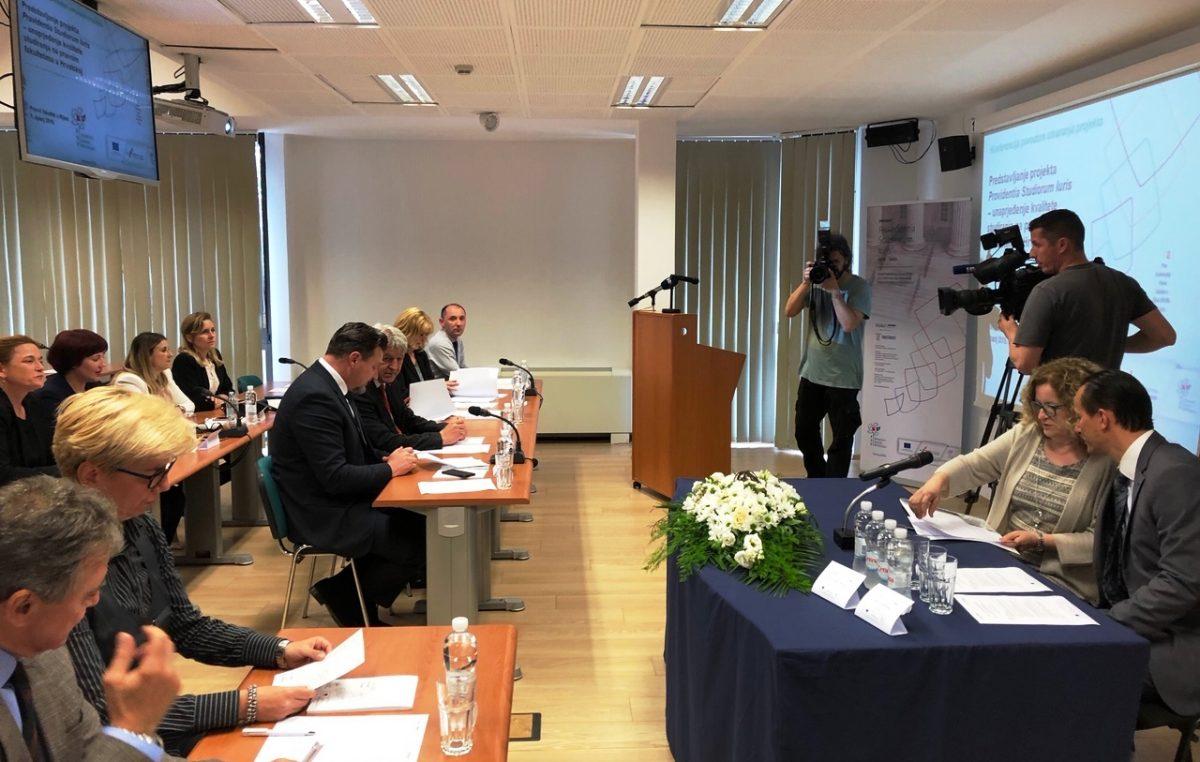 Pravni fakultet u Rijeci nositelj EU projekta za unaprijeđenje kvalitete studiranja na pravnim fakultetima u Hrvatskoj