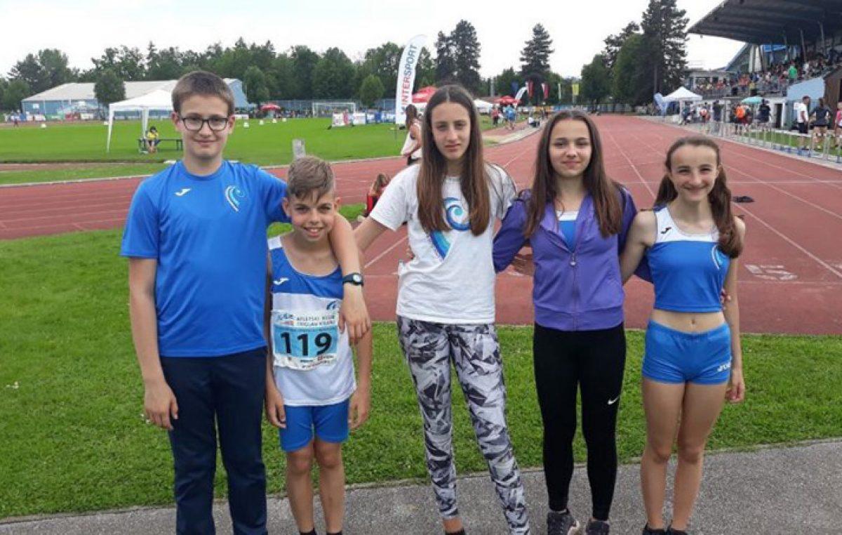 Atletičari Kvarnera uspješno nastupili na međunarodnom mitingu u Kranju