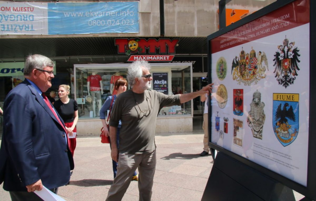 Otvorena izložba heraldičkih riječkih obilježja – Predstavljeni svi grbovi koje je Grad Rijeka 'nosio' kroz povijest