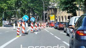 FOTO Provjerili smo kakav je promet na raskopanoj Krešimirovoj – Zbog manje automobila u gradu, zasad bez masovnih gužvi
