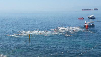 U OKU KAMERE Deseti Kostrenski plivački maraton prikupio rekordan broj natjecatelja