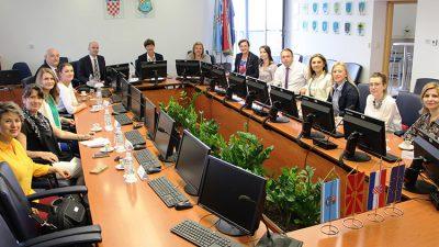Susret delegacije Sjeverne Makedonije s predstavnicima PGŽ