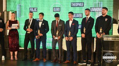 VIDEO Dresove zamijenili odijelima – Pogledajte kako je bilo na proglašenju najboljih nogometaša sezone u Opatiji