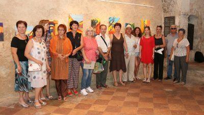 FOTO Otvorena izložba Kastafski kolori udruge likovnih umjetnika amatera Braća Baštijan @ Kastav