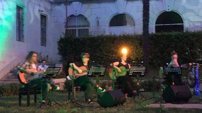 """VIDEO Učenici glazbene škole """"Ivan Matetić Ronjgov"""" koncertom obilježili kraj školske godine – Predstavljen projekt večeri filmske glazbe pod nazivom """"Glazbena u Guveru!"""""""