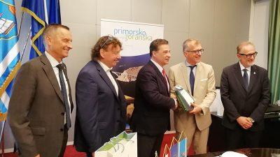 Delegacija Autonomne regije Friuli Venezia Giulia posjetila PGŽ