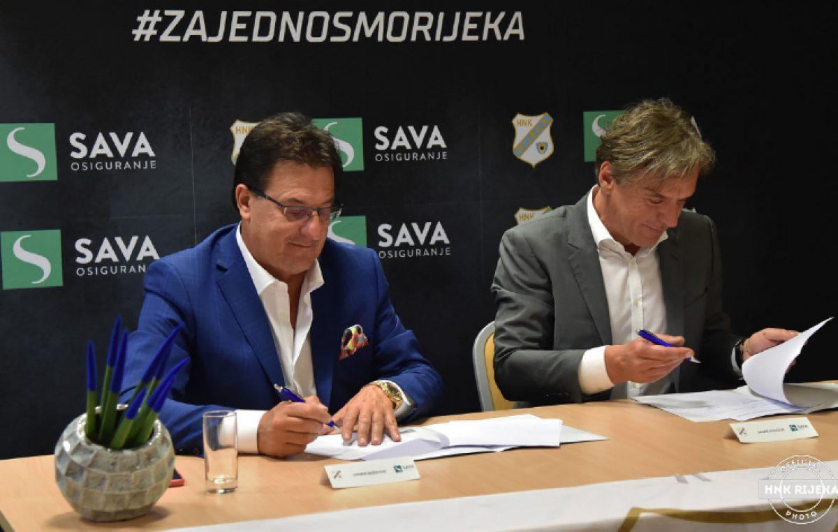 HNK Rijeka i Sava osiguranje produžili suradnju na još četiri sezone