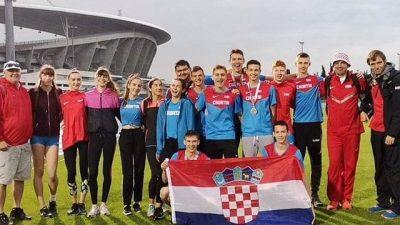 Mlađejuniorsko Prvenstvo Balkana u atletici – Hrvatskoj 5 odličja, Vuletiću peto mjesto