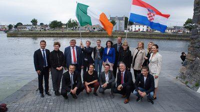 Predstavnici Europske prijestolnice kulture Rijeke 2020 u Irskoj obilježili Dan državnosti