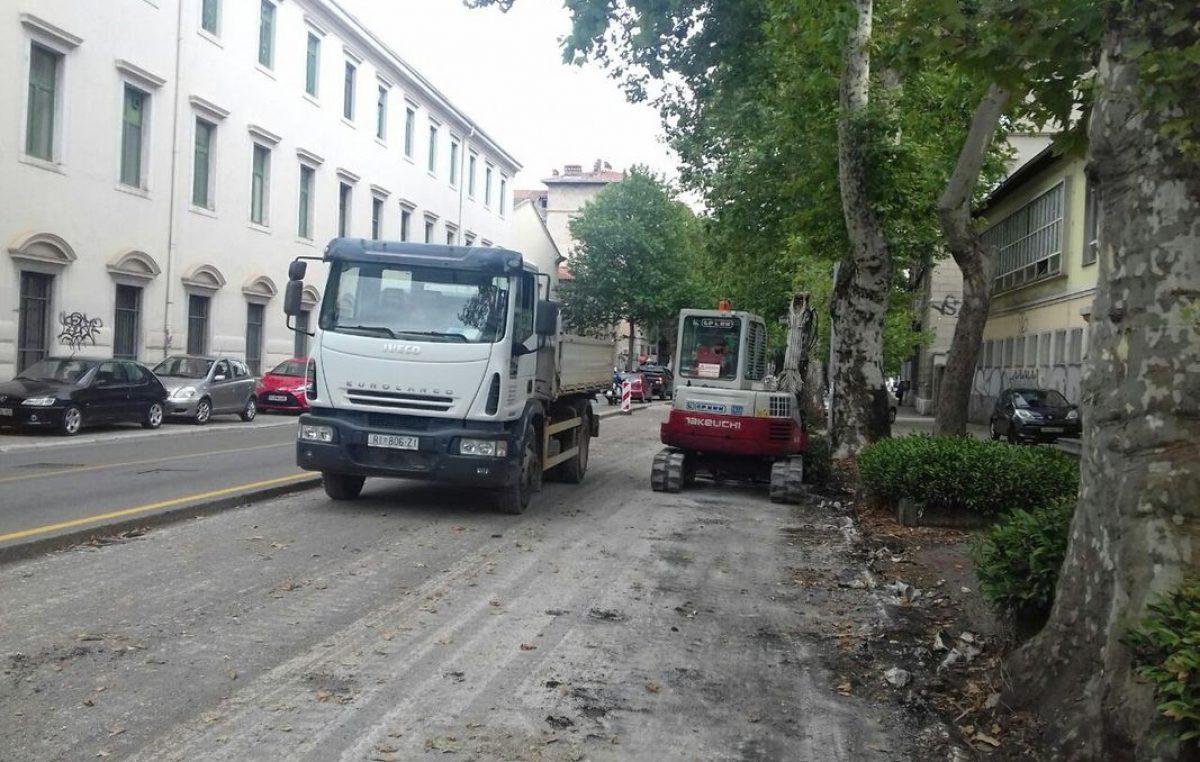 Sa gradilišta u Krešimirovoj ulici ukraden alat vrijedan 25 tisuća kuna
