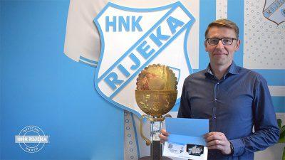 VIDEO Zoran Acinger osvojio pretplatu u nagradnoj igri HNK Rijeka